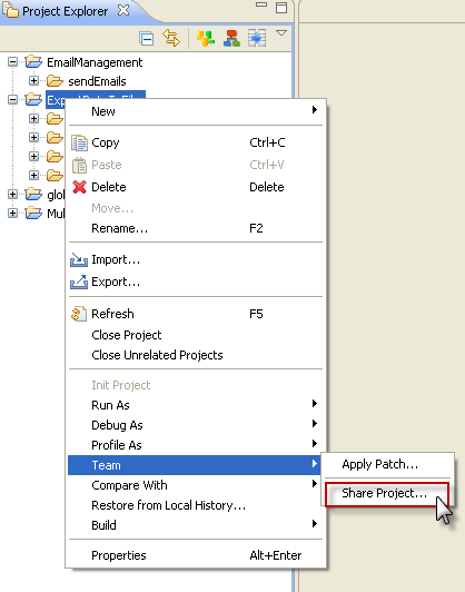 using svn into stambia designer
