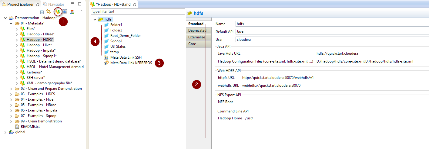 Getting started with HDFS