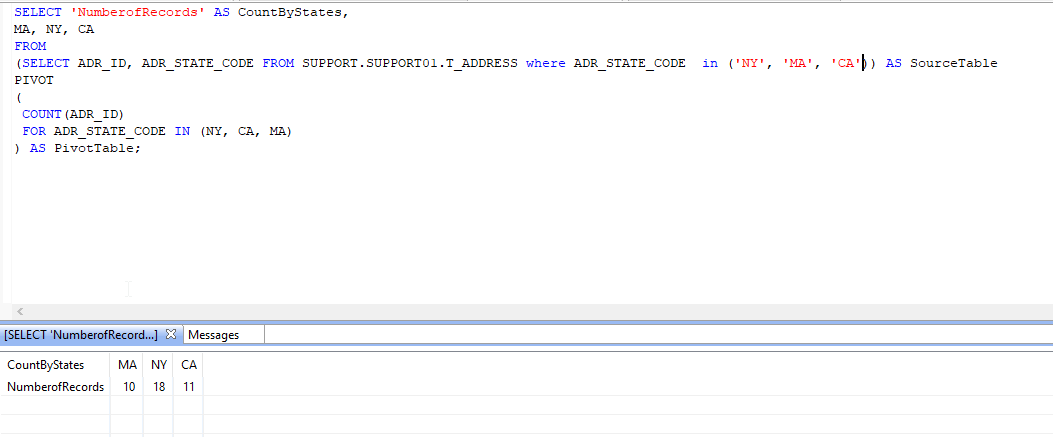 MS SQL Query