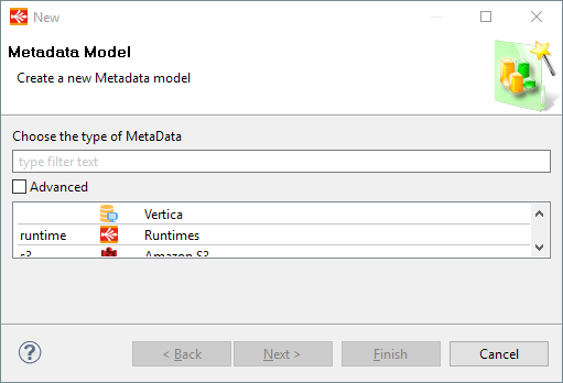runtimeMetadata creation