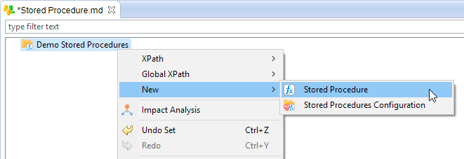 metadata new stored procedure