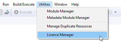 help license manager