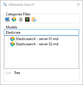 metadata search tool by name